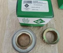Cabinet ball bearing fixed
