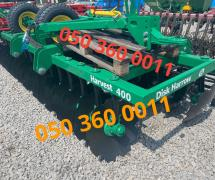 Disc harrow Harvest 400 (4 meter trailer)