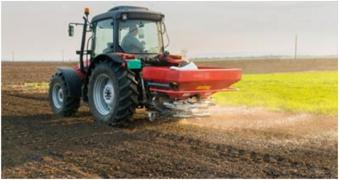 Granules vapno for deacidification of soil