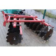 Harrow 14 disc two-section 1.3 m (China)