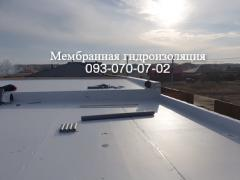 Laying of PVC membrane in Nikolaev
