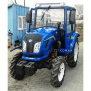 Mini tractor Dongfeng-244C with cabin made in Ukraine