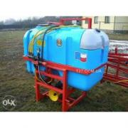 Mounted field sprayer 200 l (Poland) with washbasin