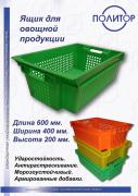 Plastic boxes for vegetables