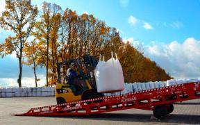 Складські пересувні мобільні рампи Ausbau