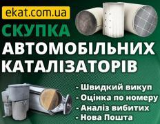 Скупка катализаторов и сажевых фильтров с авто