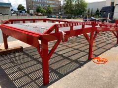 Stationary ramps AUSBAU-STB (with horizontal platform)