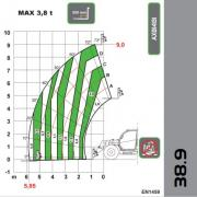 Telehandler Dieci Agri Plus 38.9