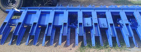 The adaptation for sunflower PS 6.1 m for new Holland, Case